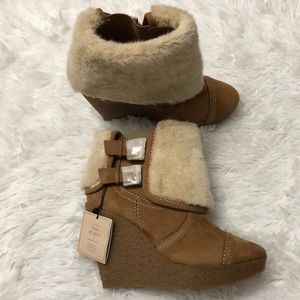 Zara Women's Wedge Boots